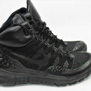 Nike Lupinek Flyknit Triple Black Sneaker Boots